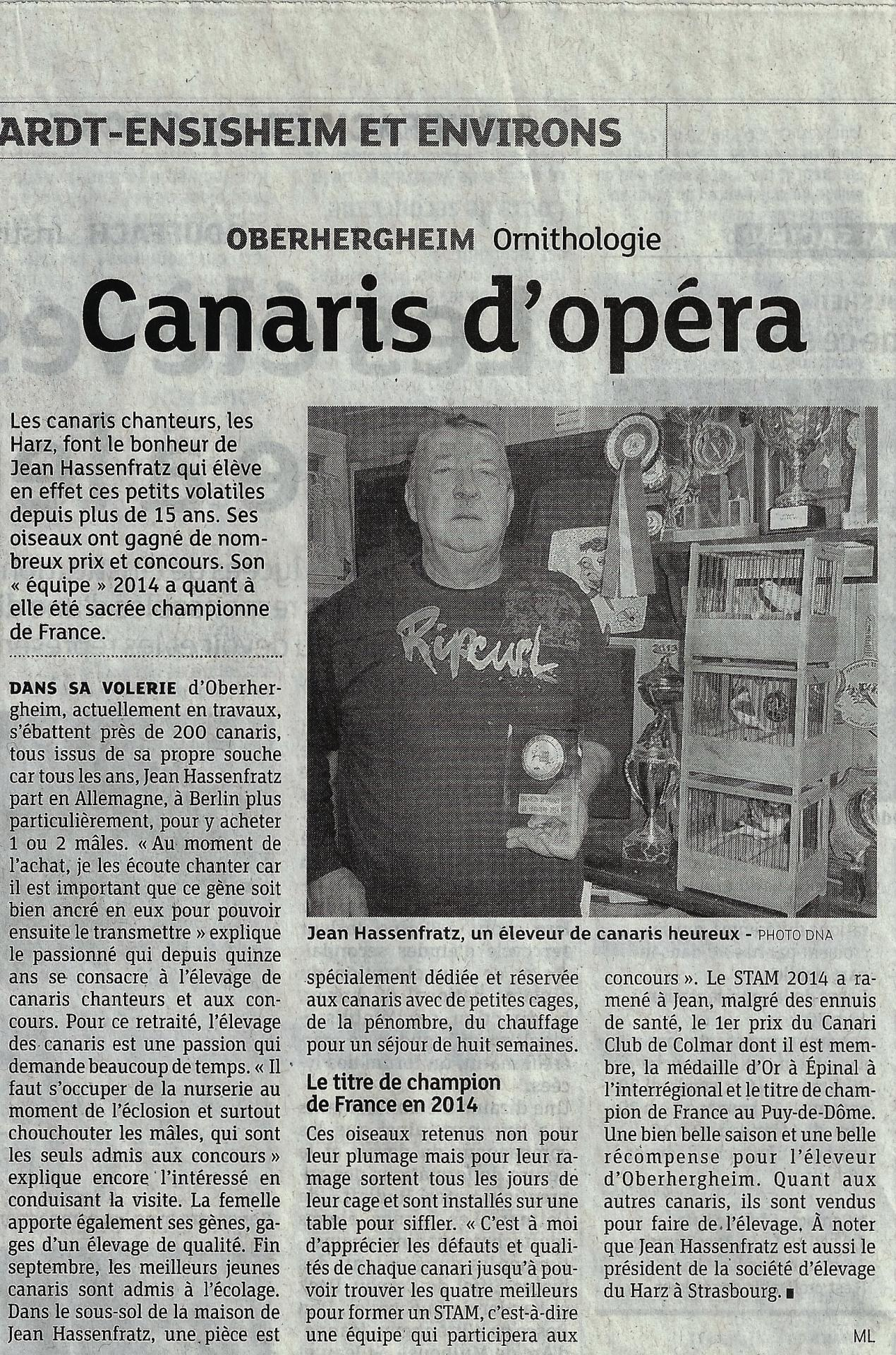 Jean champion de france 2eme article